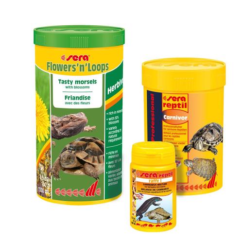 Корм для черепах, рептилий