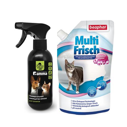 Средство от запаха кошек