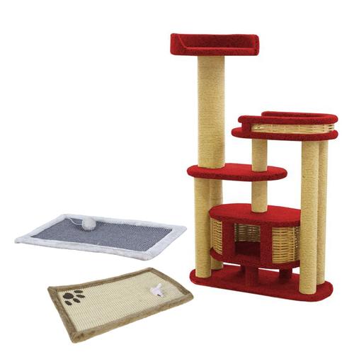 Когтеточки, игровые площадки для кошек