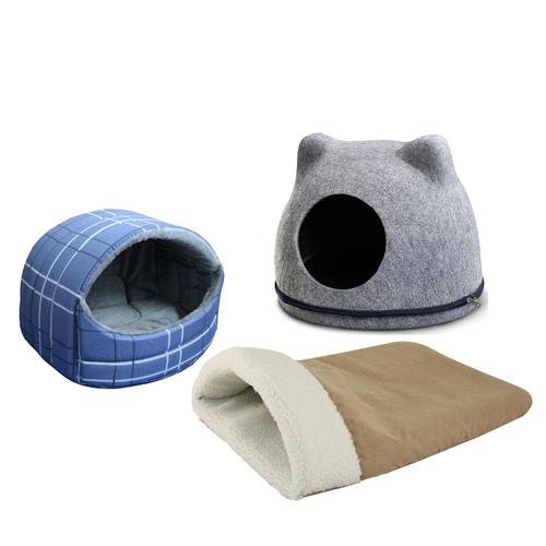 Домики мягкие для кошек