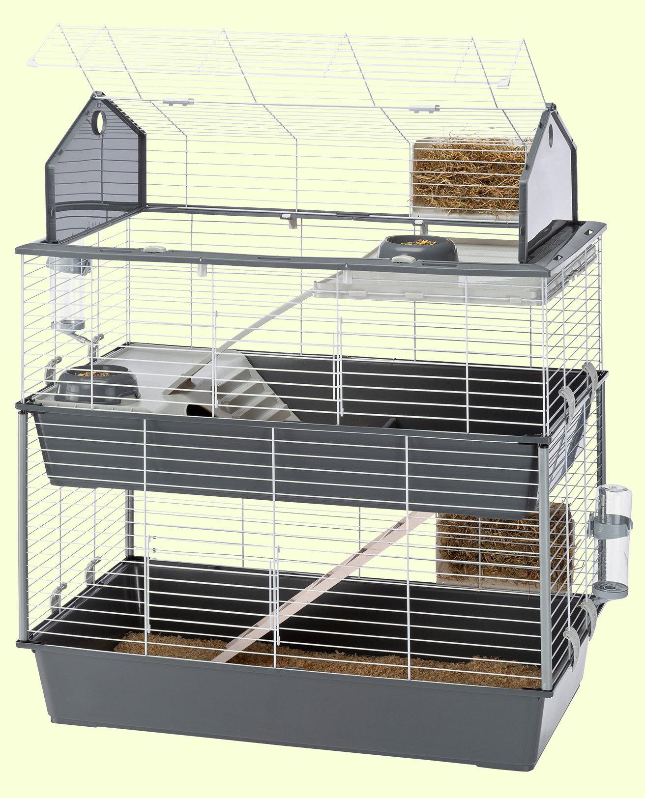 Клетки для декоративных кроликов в картинках