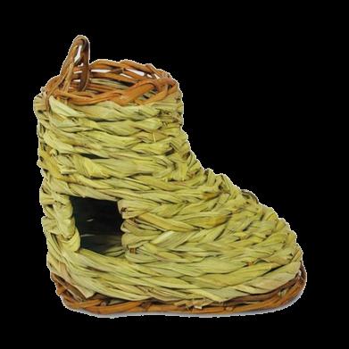 Фото Triol дом-башмак плетёный для грызунов,  170х90х130 мм PT6058