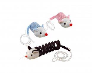Фото Кость-пружина Ferplast PA 5019  игрушка для кошек 10*6*4 см