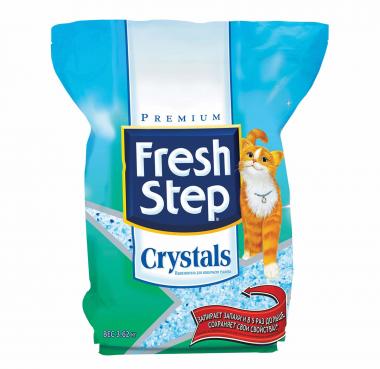 Фото Наполнитель Fresh Step Crystals силикагель 3.62 кг