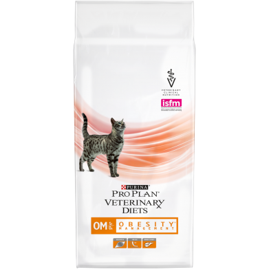 Фото Сухой корм Pro Plan VD OM для кошек при ожирении 1,5 кг
