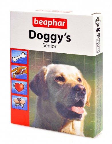 Фото Кормовая добавка Beaphar Doggy's Senior для собак старше 7 лет 75 таб