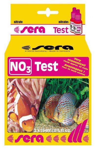Фото Тест Sera для воды NO3-Test нитраты 15 мл