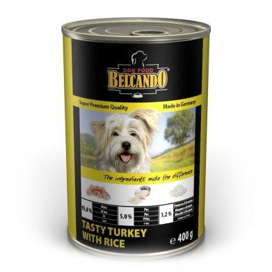 Фото Консервы Belcando Super Premium Tasty Turkey With Rice индейка с рисом для собак