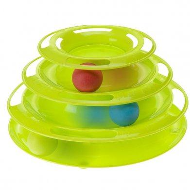 Фото Интерактивная игрушка Ferplast Twister для кошек 24,5*24,5*13 см