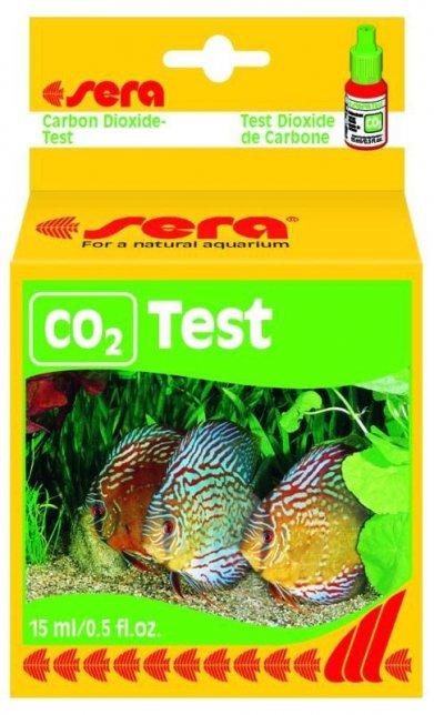 Фото Тест Sera для воды СО2-Test углекислый газ 15 мл