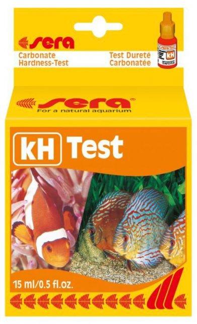 Фото Тест Sera для воды kH-Test карбонатная жесткость 15 мл