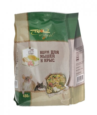Фото Triol Original корм для мышей и крыс, 450 гр
