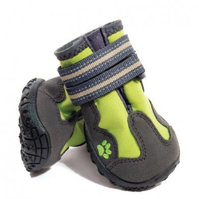 Фото Ботинки Triol зеленые для собак