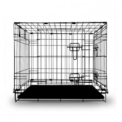 Фото Клетка 002-2K для животных с двумя дверцами