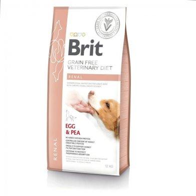 Фото Brit Veterinary Diet Dog Grain Free Renal беззерновая диета при хронической почечной недостаточности