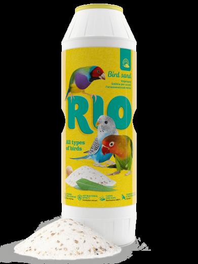 Фото Гигиенический песок Rio для птиц, банка 2 кг