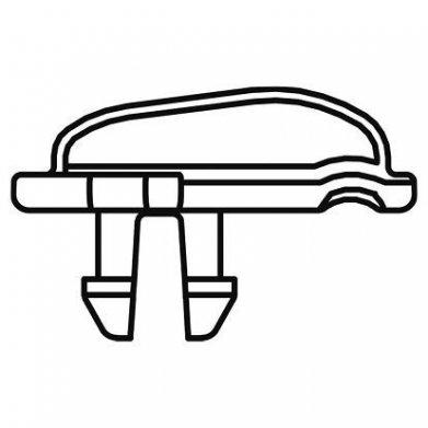 Фото Крючок решетки L451 Ferplast Combi, белый
