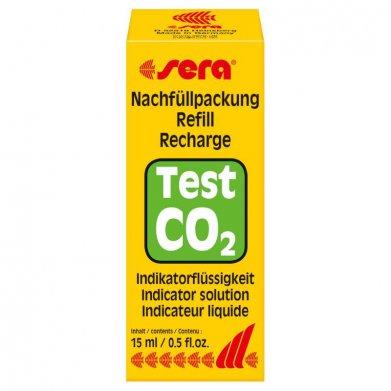 Фото Индикаторная жидкость Sera для теста СО2 углекислый газ 15 мл