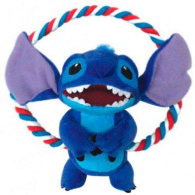 Фото WD1015 Мягкая игрушка c круглым канатом Stitch 20 см