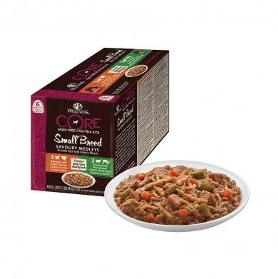 Фото Wellness аппетитное попурри из нежного куриного филе с индейкой + из баранины и оленины, ассорти, 510 г