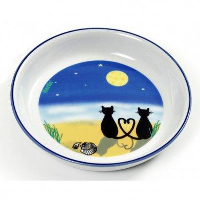 Фото Миска Karlie-Flamingo Cat & Moon 200 мл керамика
