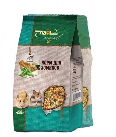 Фото Triol Original корм для хомяков, 450 гр