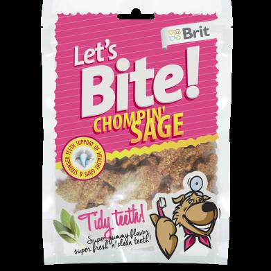Фото Лакомство Brit Let's Bite Chompin' Sage с шалфеем для собак, 150 г
