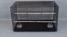 Фото Клетка Golden cage для птиц 610D черная (76*46*45 см)