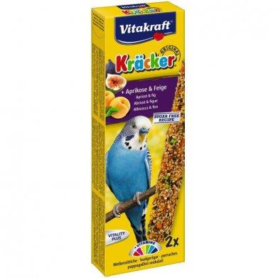 Фото Крекеры Vitakraft для волнистых попугаев 2 шт фруктовые