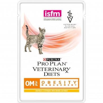 Фото Пауч Pro Plan VD OM корм для кошек при ожирении 85 г
