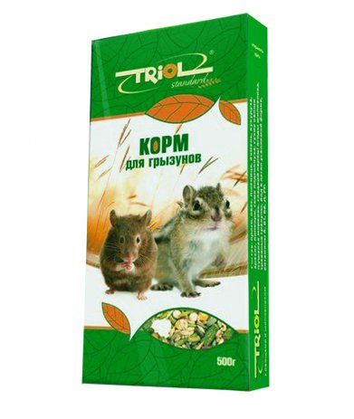 Фото Triol Standard корм для грызунов, 500 гр