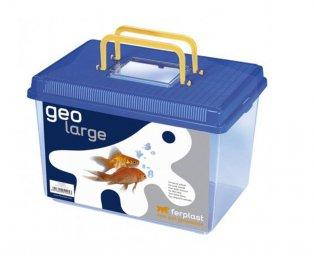 Фото Пластиковая переноска-террариум для рыб и грызунов Geo Large (с крышкой) 6 л от Ferplast