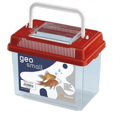 Фото Пластиковая переноска-террариум для рыб и грызунов Geo Small (с крышкой) 1,1 л от Ferplast