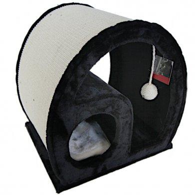 Фото Когтеточка-домик PS249-2 Pet Choice 50*40*50 см, черная