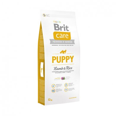 Фото Brit Care Puppy All Breed для щенков всех пород, ягнёнок с рисом