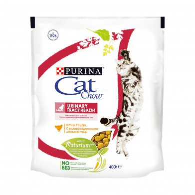Фото Корм Purina Cat Chow для кошек для профилактики мочекаменной болезни