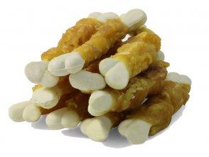 Фото Triol кальцинированные косточки с курицей для собак, 450 г (банка)