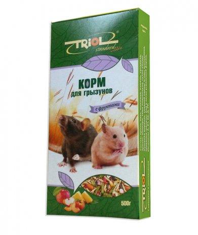 Фото Triol Standard корм для грызунов  с фруктами, 500 гр