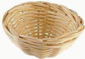 Фото Гнездо-вкладка плетеное Nido Vimini, диаметр 10 см