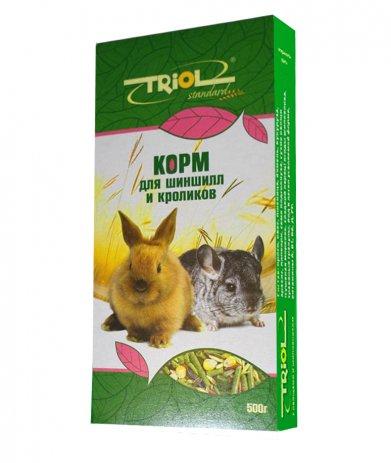 Фото Triol Standard корм для шиншилл и кроликов, 500 гр