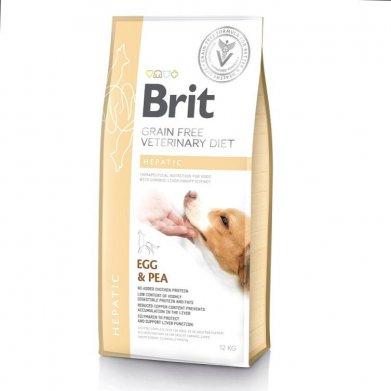 Фото Brit Veterinary Diet Dog Grain Free Hepatic беззерновая диета при печеночной недостаточности