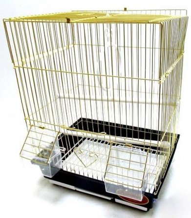 Фото  Клетка Golden cage для птиц A105G (30*23*39 см)
