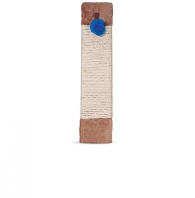 Фото Когтеточка-доска с мехом и игрушкой 817NT, 12*50 см