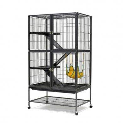 Фото Вольер Golden cage для кошек/хорьков/шиншилл D670, 80*54*137,5 см, эмаль