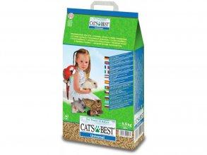 Фото Наполнитель Cat's Best Universal 7 л/ 4 кг древесный впитывающий
