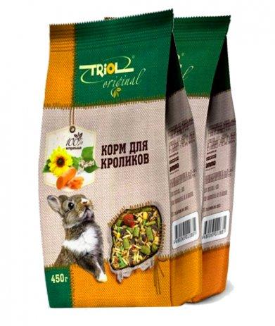 Фото Triol Original корм для кроликов, 450 гр