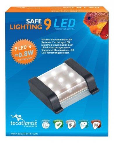 Фото Светодиодный светильник Aquatlantis LED 9 для аквариумов NanoFacion Vision 1 и NanoFasion Vision 2