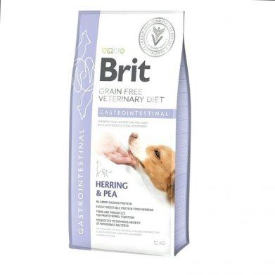Фото Brit Veterinary Diet Dog Grain Free Gastrointestinal беззерновая диета при острых и хронических гастроэнтеритах