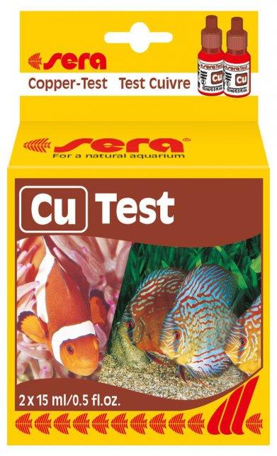 Фото Тест Sera для воды Cu-Test медь 15 мл