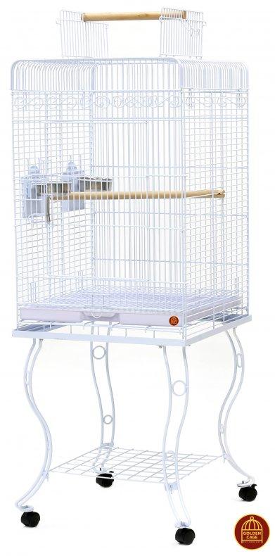 Фото Клетка Golden cage для крупных птиц А80 54*54*134 см
